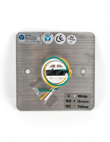Buton de iesire incastrabil NO/NC/COM PBK-810C