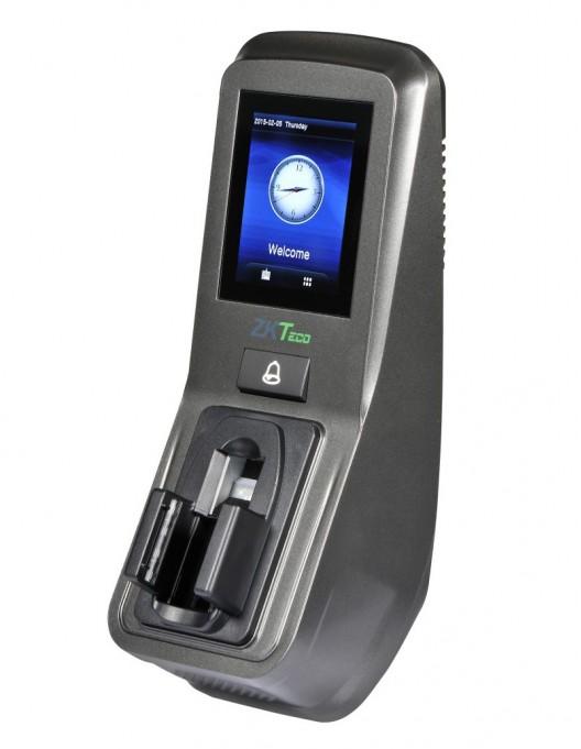Controler de acces multi-biometric cu pontaj, recunoastere vene, cititor de amprente ZKTeco FV350-ID
