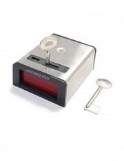 Buton de panica cu retinere, din metal SS077