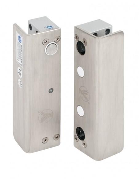 Mini bolt electromagnetic aplicat, pentru usi de sticla YB-500U(LED)