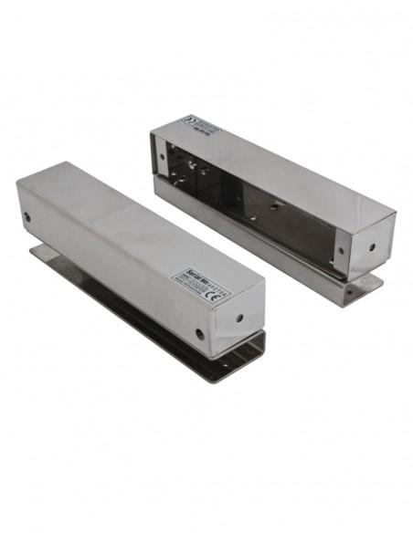 Suport montare bolt electromagnetic pe usi de sticla BBK-700