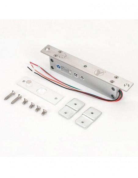 Mini bolt electromagnetic incastrat, cu monitorizare, temporizare YB-500A(LED)
