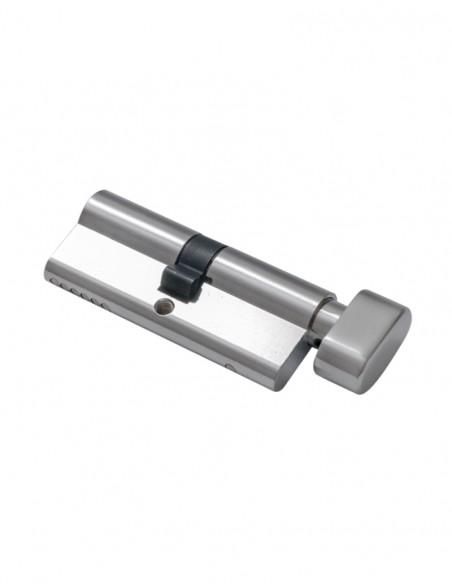 Bolt electromagnetic incastrat, cilindru cu cheie, LED de stare YB-500C(LED)