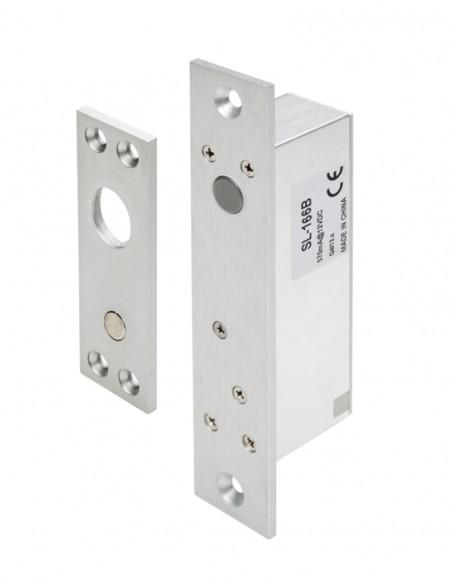 Mini bolt electromagnetic incastrat, cu monitorizare SL-166B