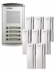 Set interfon 8 familii Commax DR-8AM