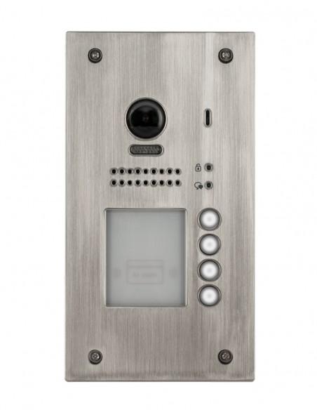 Panou video color de apel exterior, camera WIDE DT607F-ID-S4