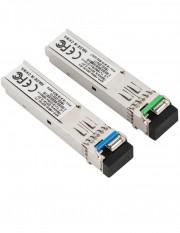 Pereche module SFP standard, single-fiber, 155Mbps, 20