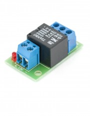 Placuta cu releu, LED, convertor PCB-506A