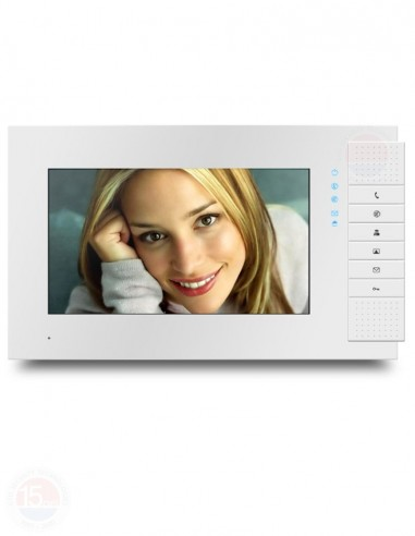 "Monitor videointerfon color TFT 7"" Genway 3251-7"