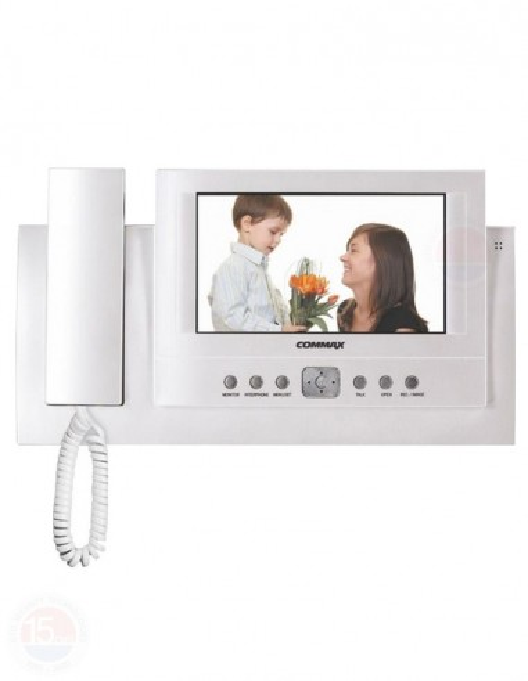 "Monitor videointerfon color cu memorie TFT 7"" COMMAX CAV-72B"