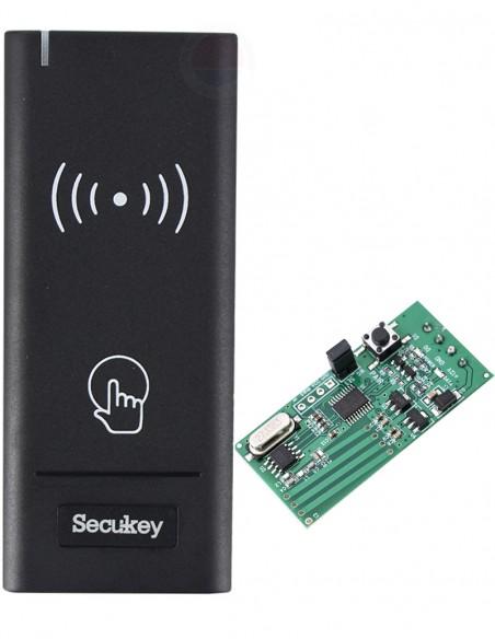 Cititor RFID (EM 125 kHz) cu comunicatie wireless WR1-EM