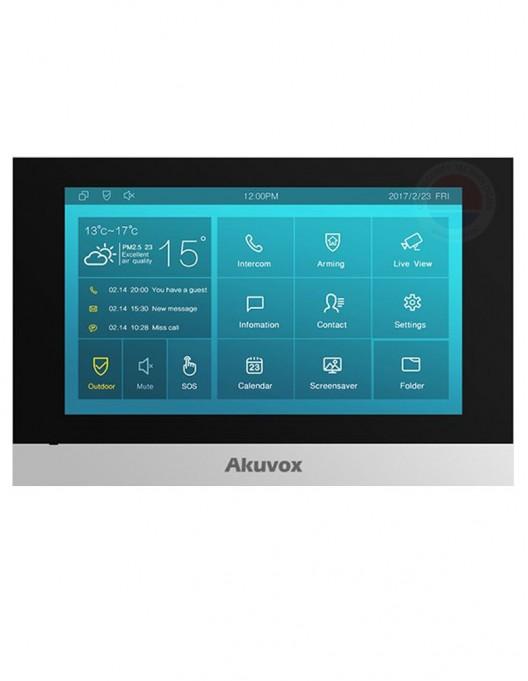 "Monitor videointerfon IP SIP, 10"" Akuvox C317A"