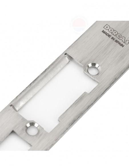 Suport lung din inox, pentru incuietorile Dorcas DORCAS-H1-X