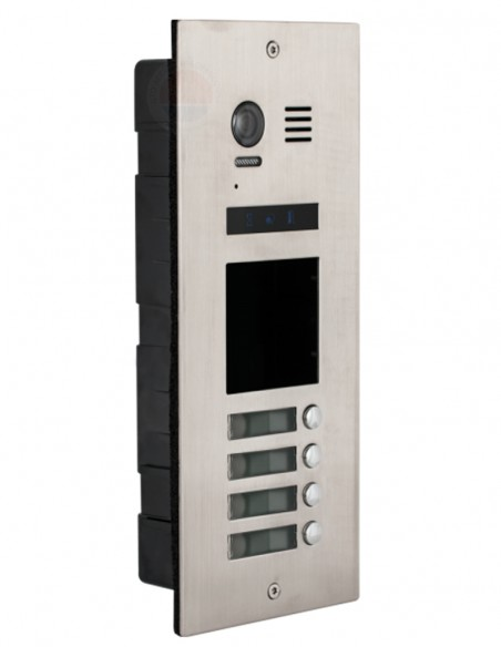 Post exterior video interfon 4 familii DMR21-S4-F1