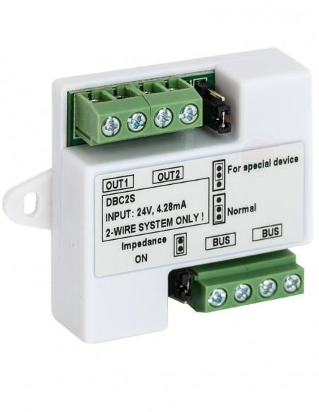 Distribuitor de semnal cu 2 ramuri DT-DBC2S