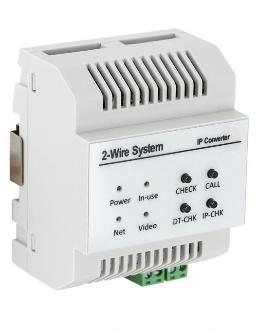 Convertor Gateway IP pentru sistemele de interfonie 2Easy DT-IPG