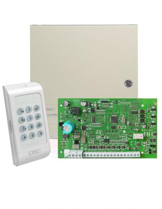 Centrala alarma 8 zone DSC PC-1404