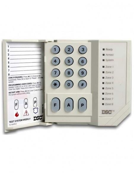 Tastatura LED 8 zone Power DSC PC-1555