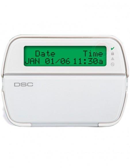 Tastatura alarma LCD 64 zone DSC PK5500