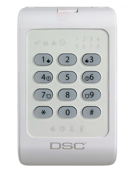 Tastatura LED 8 zone Power DSC PC-1404RKZ