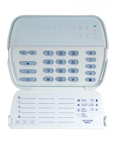 Tastatura alarma LED 8 zone DSC PK-5508