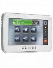 "Tastatura alarma touch screen 7"" DSC PTK-5507W"
