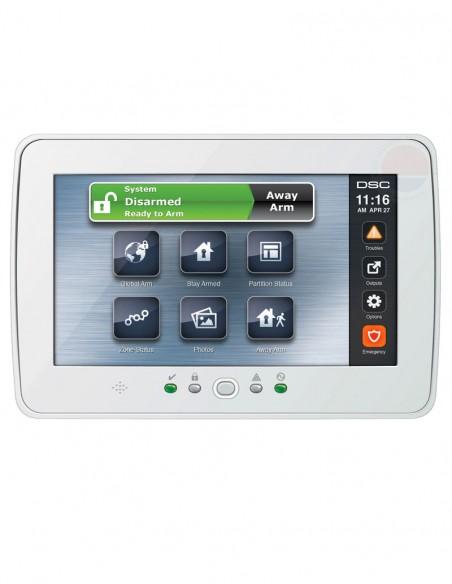 """Tastatura alarma touch screen 7"""" DSC PTK-5507W"""