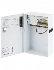 Sursa alimentare cu backup, 8 canale, 12V/10A YPS-12-8-10