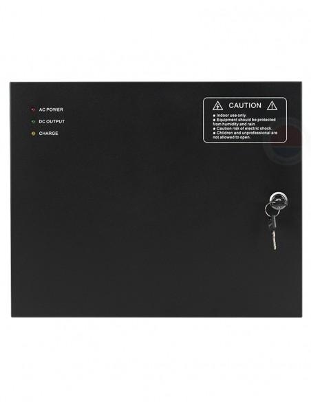 Cabinet multifunctional pentru centrale control acces 12Vcc/5A, backup CAB4-PS5