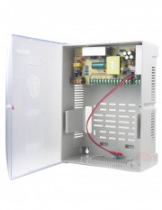 Sursa de alimentare cu backup, 9 canale, 12V/10A STD-XZS120-12-9