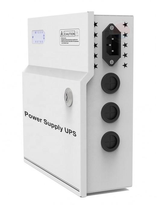 Sursa de alimentare cu backup, 18 canale, 12V/20A STD-XWU250-12-18