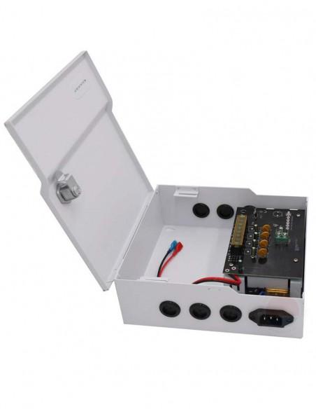 Sursa alimentare cu backup, 4 canale, 12V/5A STD-XWU60-12-4