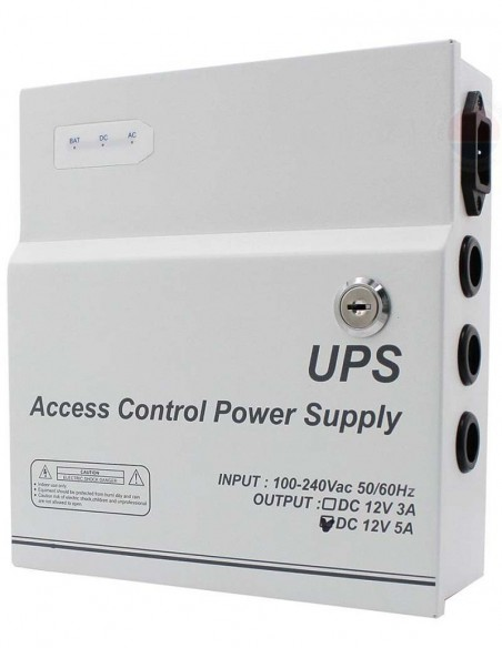 Sursa alimentare cu backup 12V, 5A STD- TMJY05-12-7Z