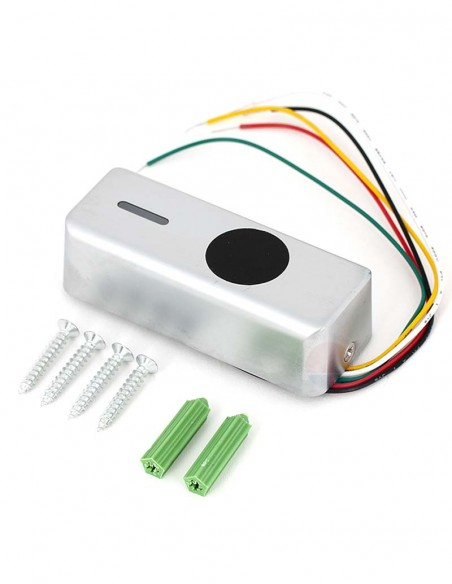 Buton iesire fara atingere, cu LED, de exterior T3NT-DTW