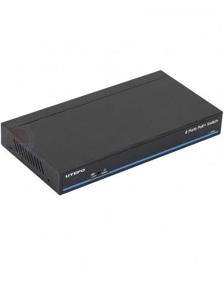 Switch ethernet PoE+, 8 porturi UTP1-SW0801-TP120
