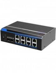 Switch industrial cu 8 porturi UTP7208GE