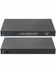 Switch ethernet PoE+, 16 porturi UTP1-SW16-TP300