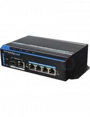 Switch ethernet POE+, 4 porturi UTP7204E-POE-A1