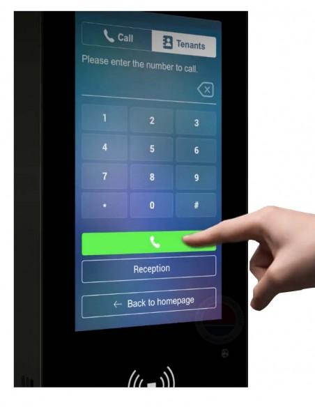 Terminal control acces IP, recunoastere faciala, cod QR A05S
