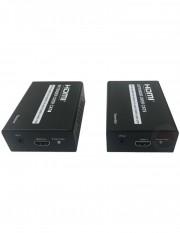 Extender HDMI prin cablu UTP si transmitator IR bi-directional UTP801HD-A2