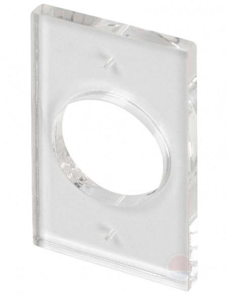 Suport plexiglas montare aplicata butoane MBB-801D-M
